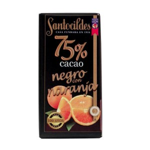 Chocolate con Naranja 75%
