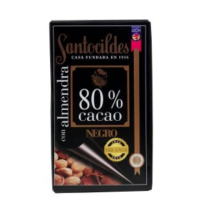 Chocolate con Almendras 80%