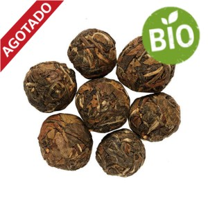 White Tea balls Pai Mu Tan Bio