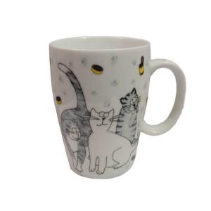 Taza Porcelana Gatos