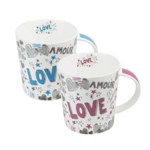 """Mug Porcelana """"Love"""""""