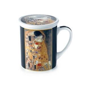Tisanera Porcelana Klimt