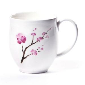 Taza Porcelana Flor de Cerezo